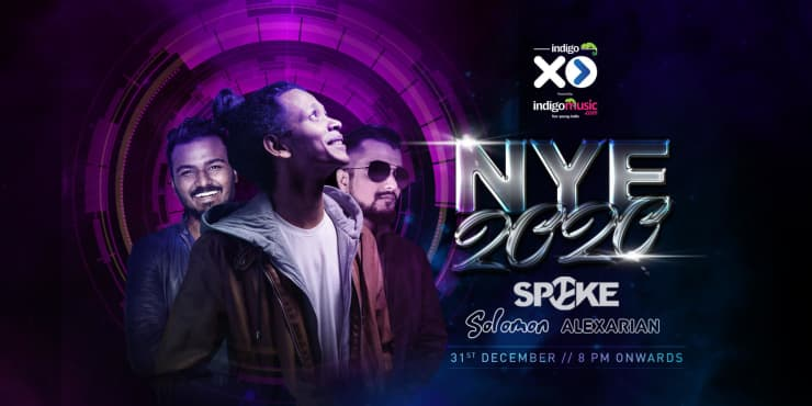 Indigo XP Presents New Year 2020