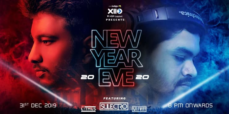 Indigo XP Presents New Year EVE 2020