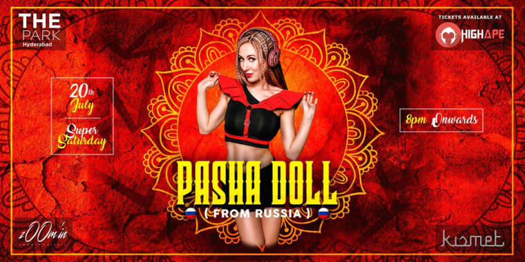 Super Saturday Ft  Pasha Doll At The Park at The Park hotel