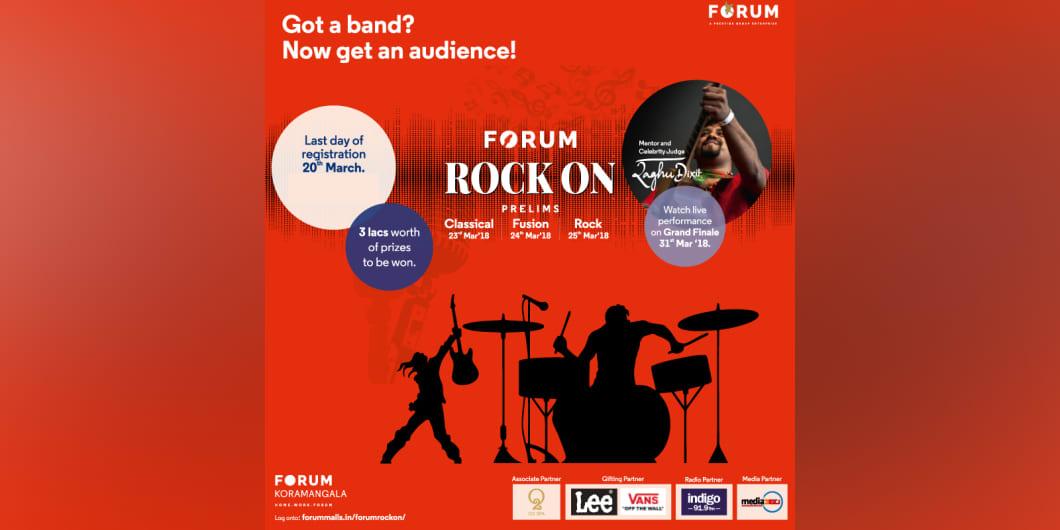 Forum Rock On Ft. Raghu Dixit