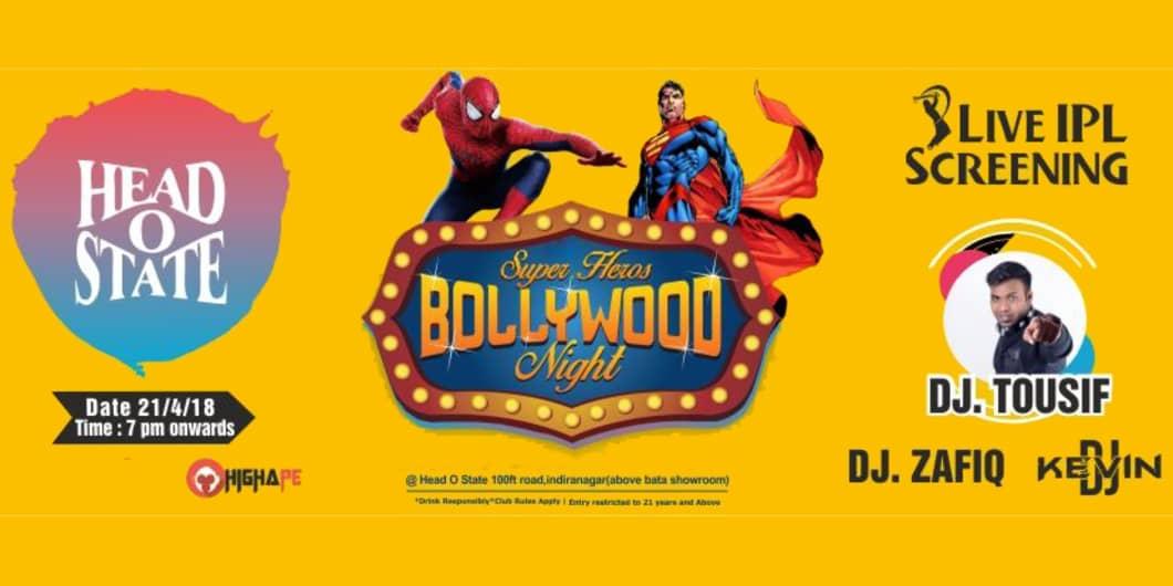 Super Heroes - Bollywood Ladies Night