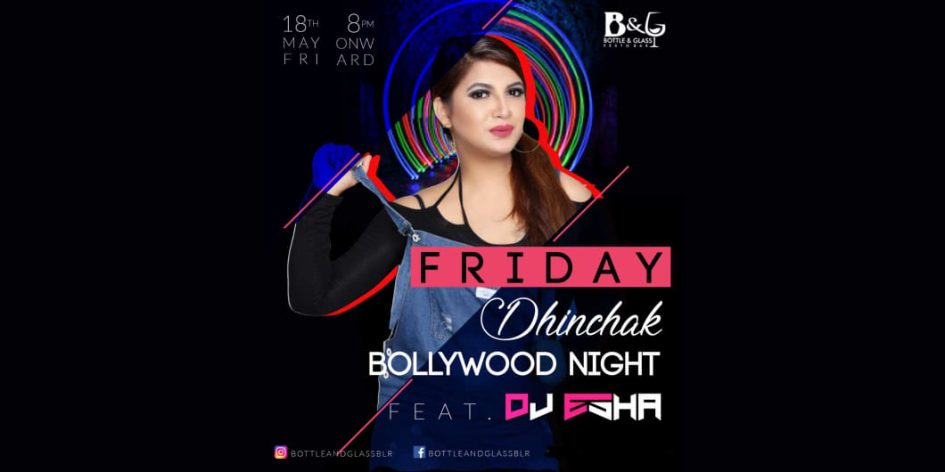 Dhinchak Bollywood Night with DJ Esha