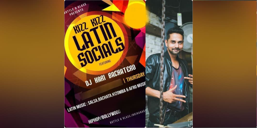 Kizz Kizz Latin Socials Ft.DJ Hari
