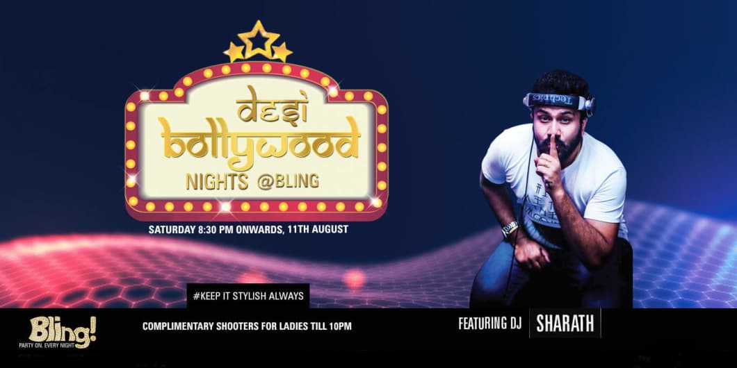 Desi Bollywood Night ft DJ Sharath