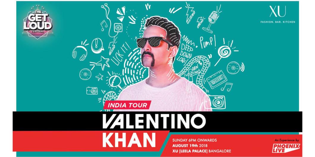 Valentino Khan India Tour (Bangalore) - XU Leela Palace