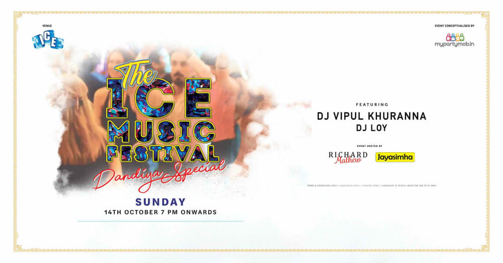 The Ice Music Festival - The Dandiya spl