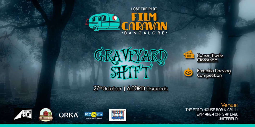 Lost The Plot Film Caravan – Open Air Cinema