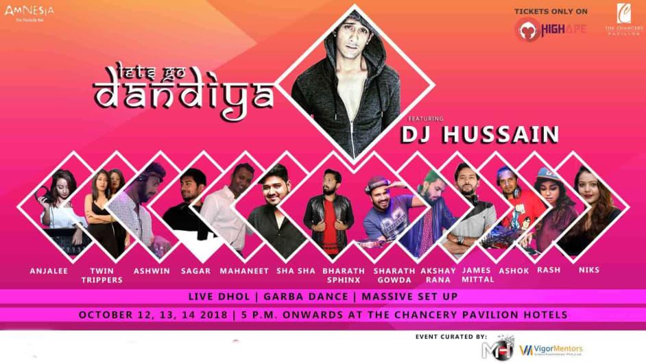 RED FM Presents Let's Go Dandiya - Chancery Pavilion