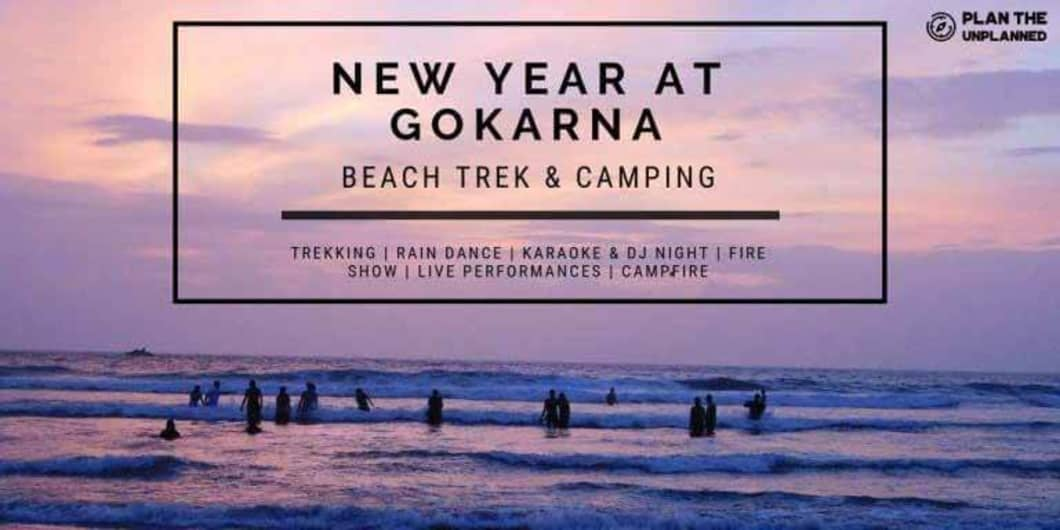 New Year Gokarna Beach Trek & Camping