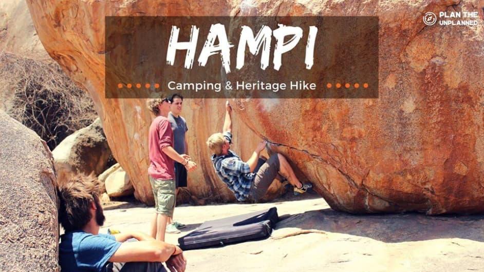 New Year at Hampi – Heritage Trek, Cycling and Camping