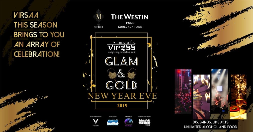 Virsaa GLAM & GOLD New Year Eve
