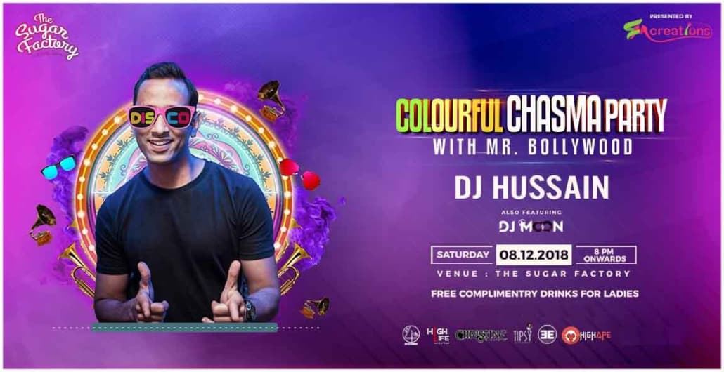 Colourful Chasma Party ft. Hussain!