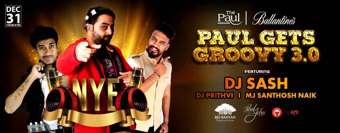 Paul Gets Groovy 3.0 - NYE 2019 Bollywood Party