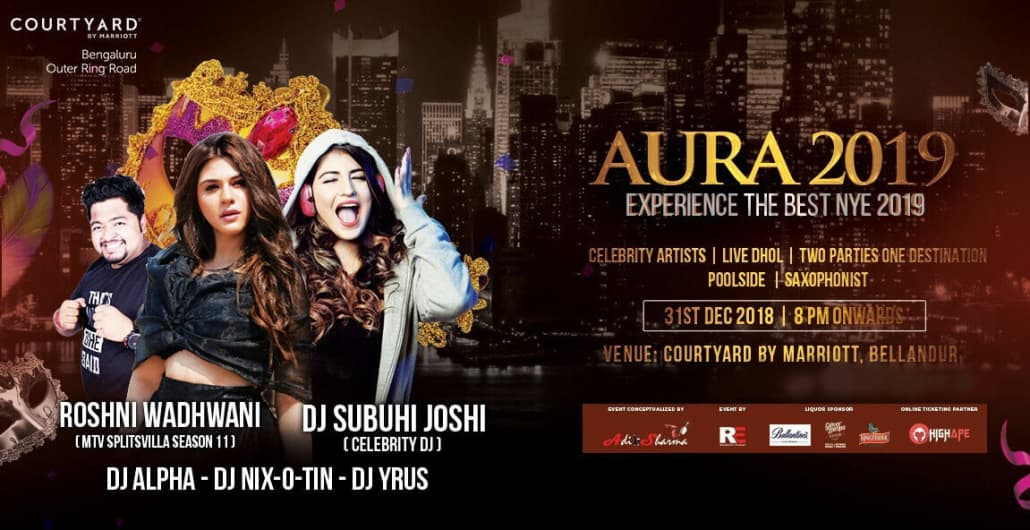 Aura 2019 - Courtyard by Marriott Bangalore