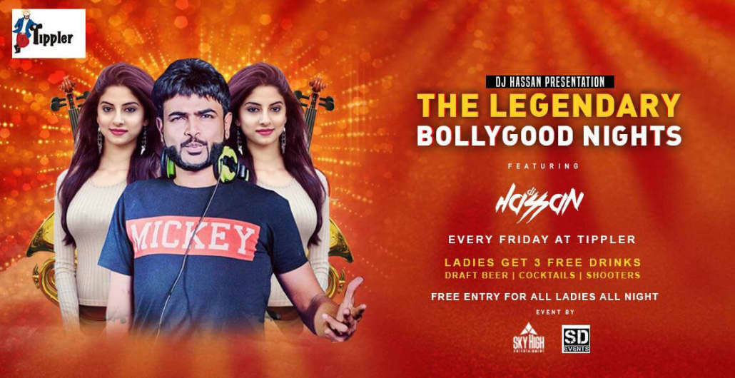 Bollywood Sensation WIth DJ Hassan @Tippler Indiranagar menu