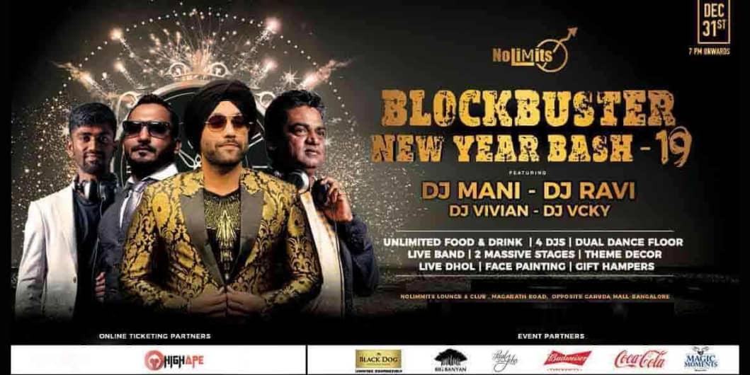 BlockBuster New Year Bash - 2019
