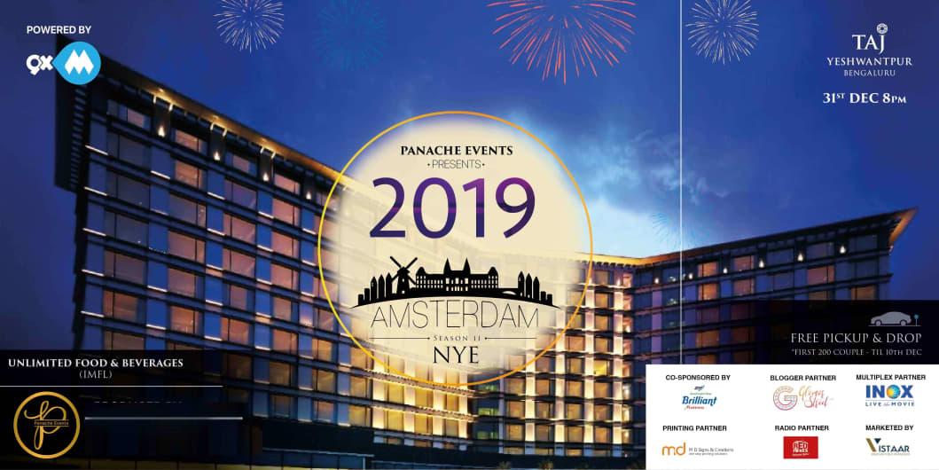 Amsterdam NYE 2019 - Vivanta By Taj