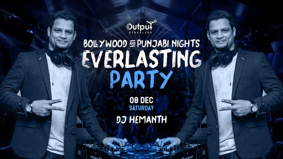 Bollywood & Punjabi Night Ft DJ Hemanth