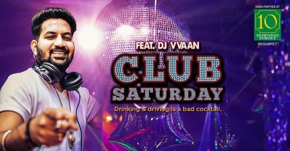 Club Saturday Feat. DJ Vvaan