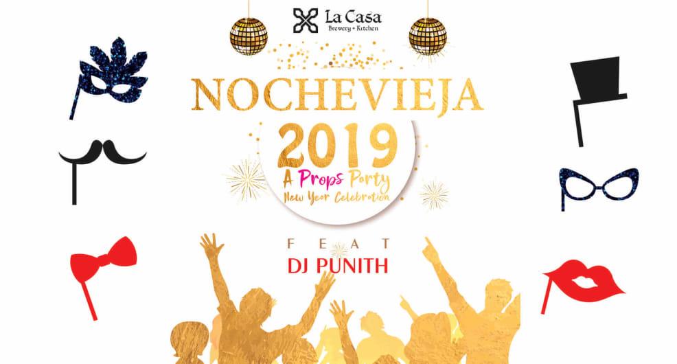 Nochevieja 2019 - La Casa Brewery
