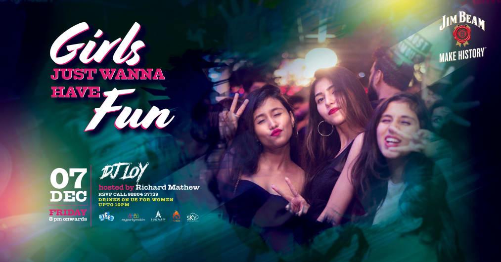 Girls Just Wanna Have Fun - Poolside Ladies Night