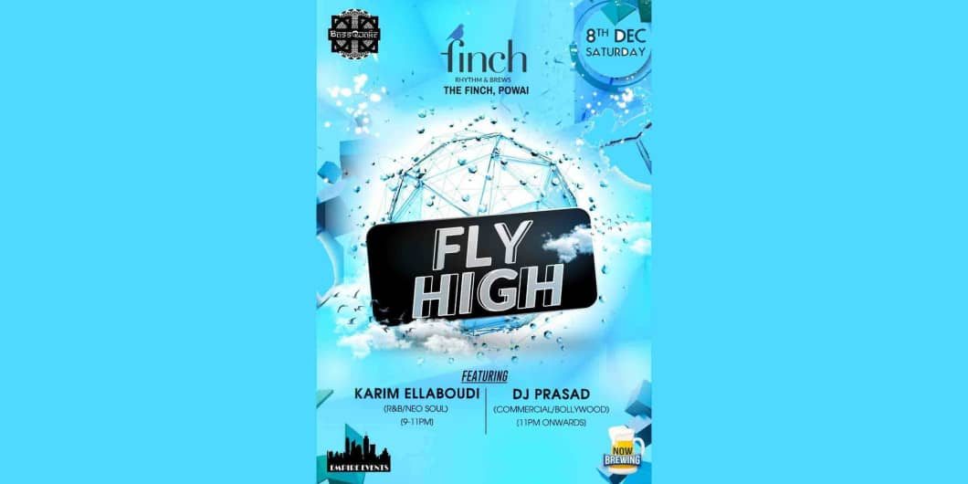 Fly High Saturday At The Finch