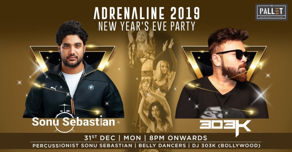 Adrenaline 2019 New Years Eve Party