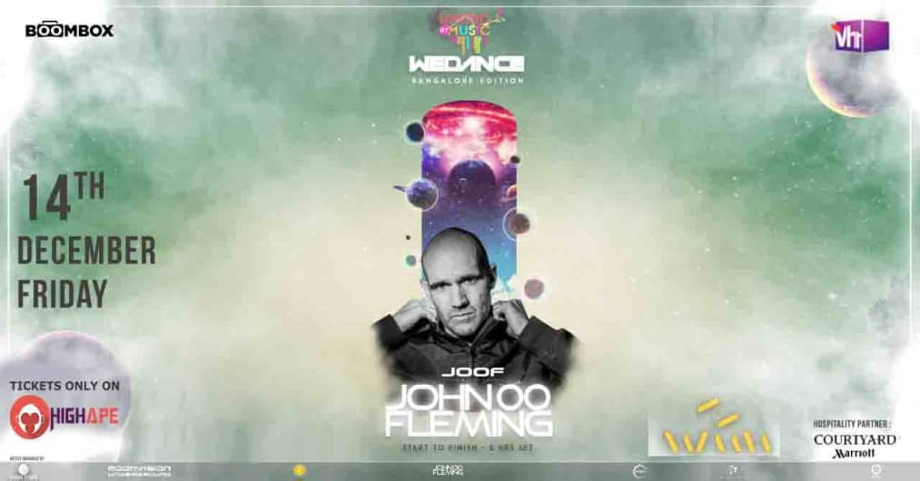 JOHN OO FLEMING LIVE 5hrs SET IN BANGALORE