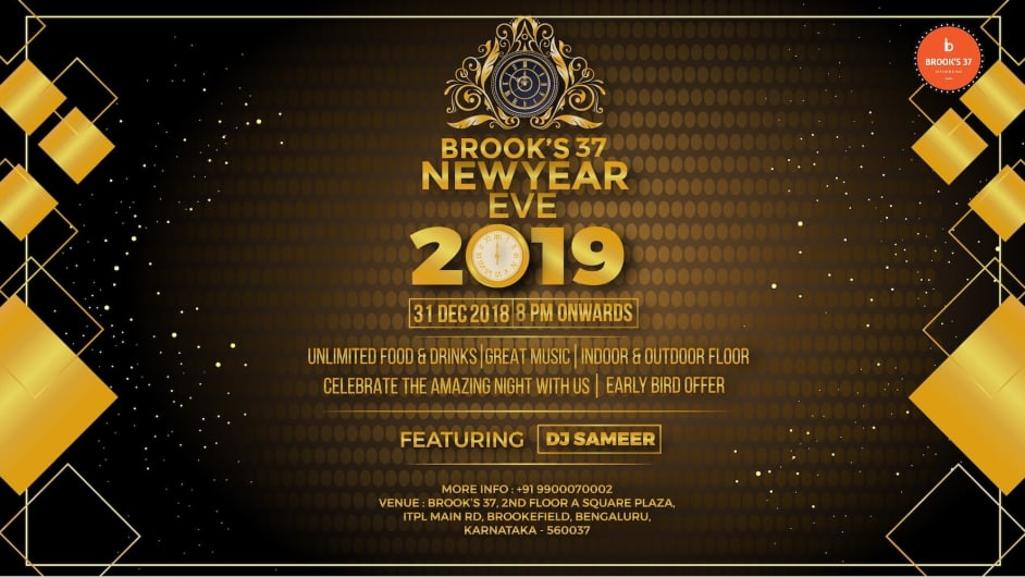 Brook's New Year's Eve 2019