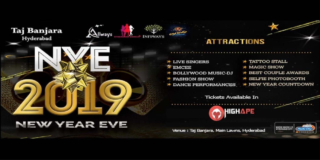New Year Eve 2019 - Taj Banjara