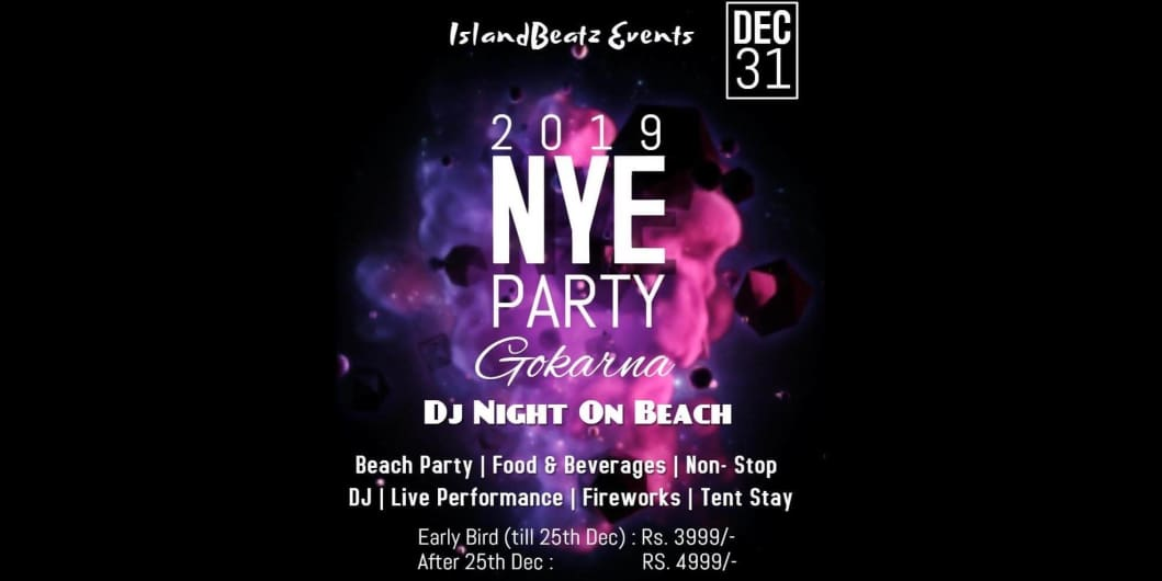 2019 NYE Beach Party At Gokarna