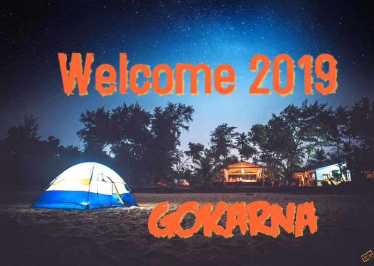 Gokarna Beach Trek - New Year