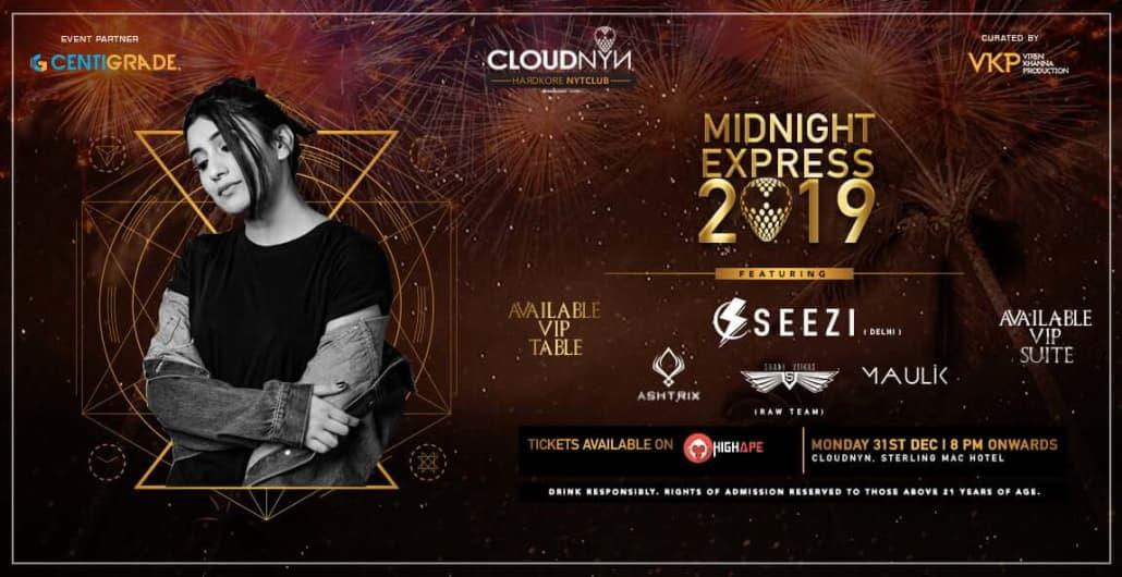 Midnight Express 2019 - Sterlings Mac Hotel Bangalore