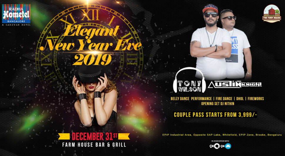 Elegant New Year Eve 2019 - Lawn Party