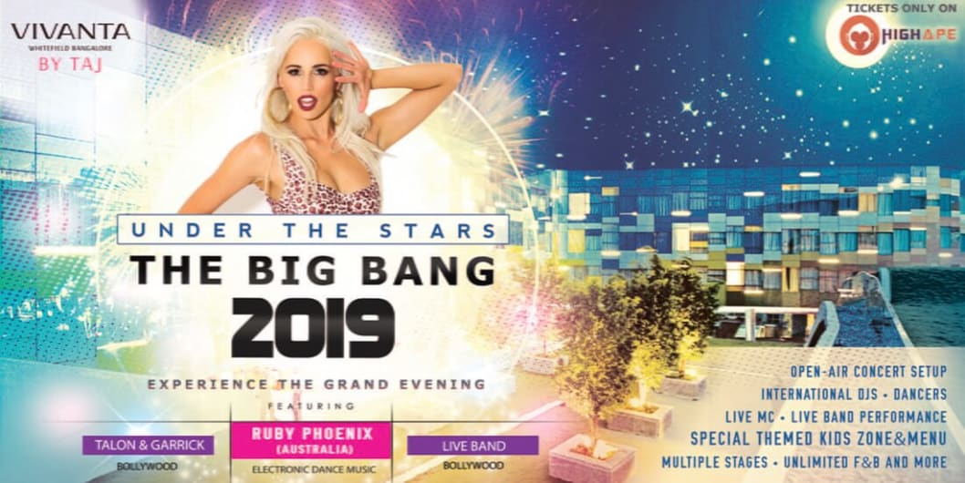 Under The Stars - The Big Bang 2019  |  TAJ's Special New Year's Eve