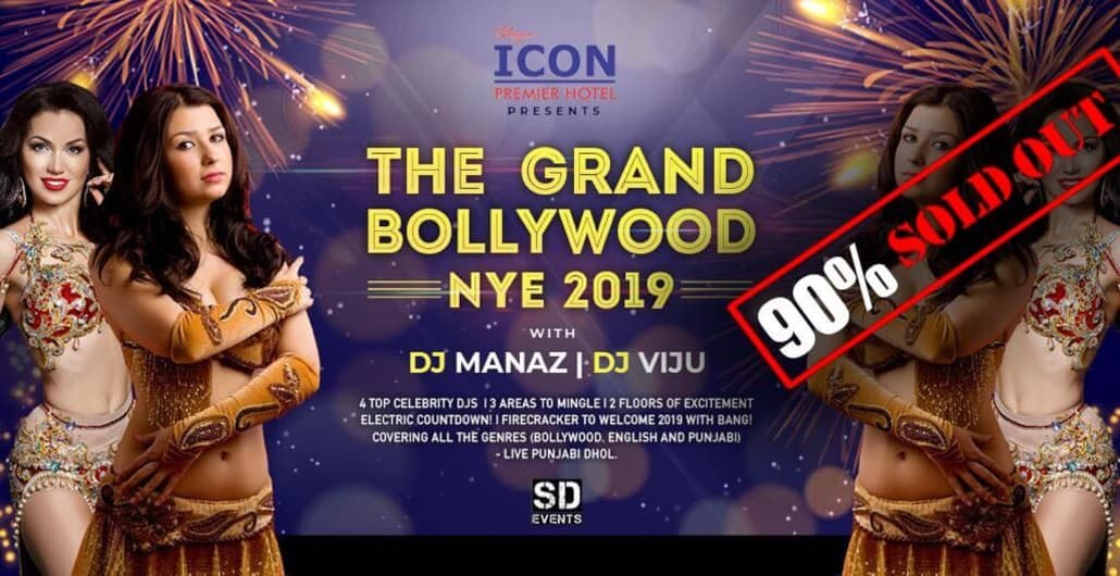 The Grand Bollywood NYE 2019