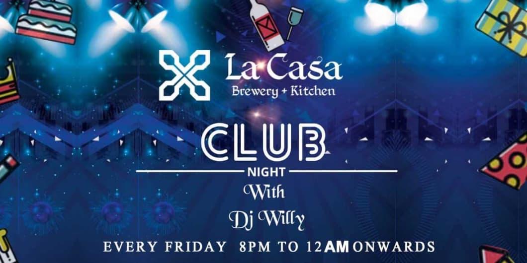 Friday Club Night ft. DJ Willy