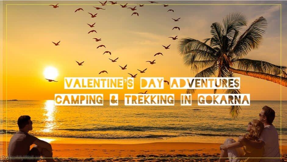 Valentine's Day Special Camping & Trekking in Gokarna