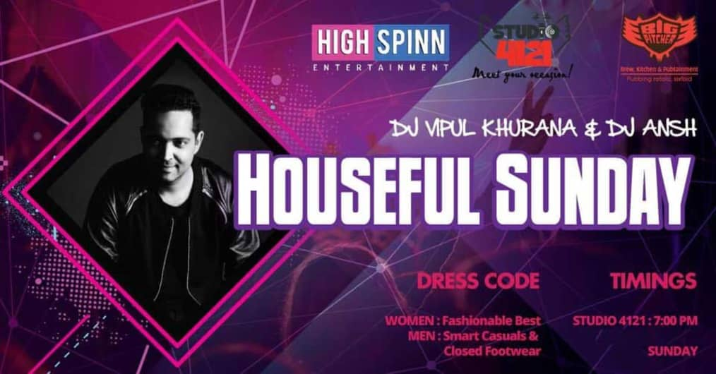 Houseful Sunday ft. DJ Vipul Khurana