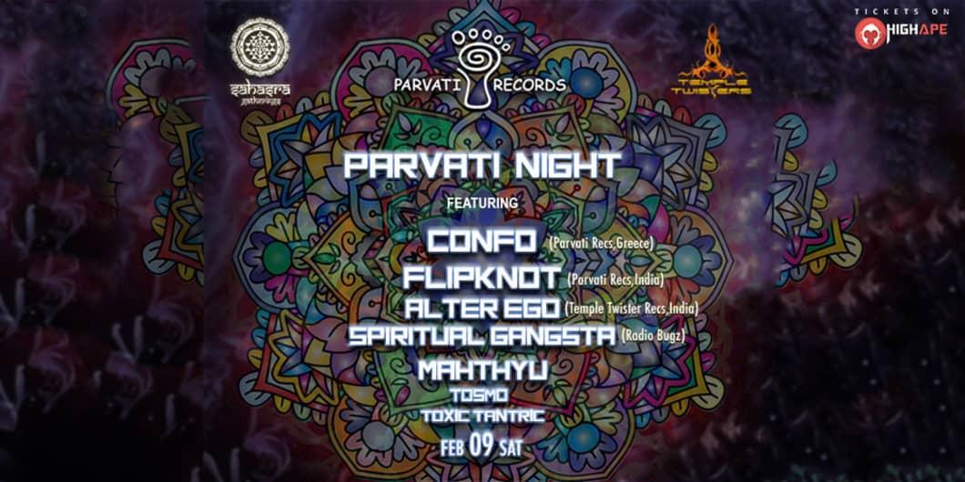 Parvati Night In Hyderabad