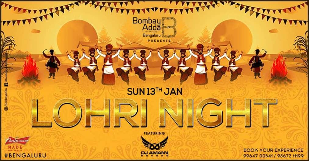 Lohri Night Ft. DJ Amann Nagpal