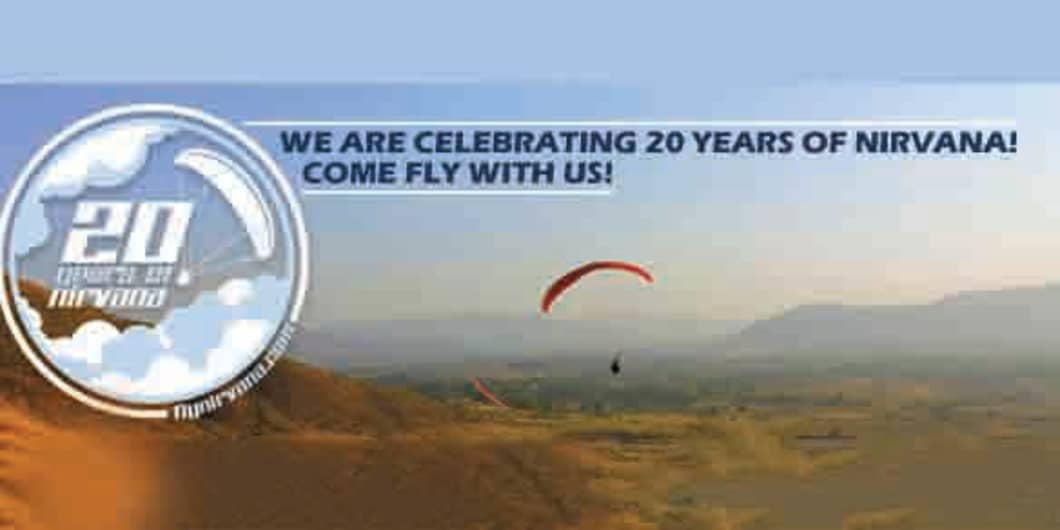 Paragliding Beginner Courses at Kamshet