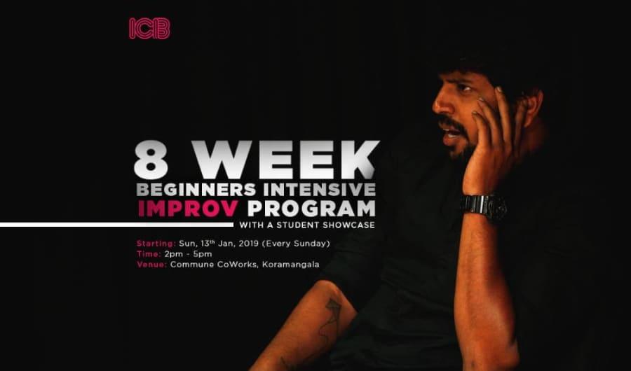ICB's 8 Week Beginner's Improv Intensive Program
