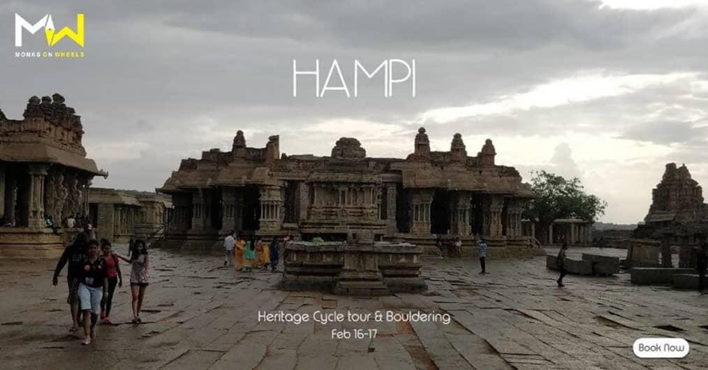 Hampi | Heritage Cycle Tour & Bouldering
