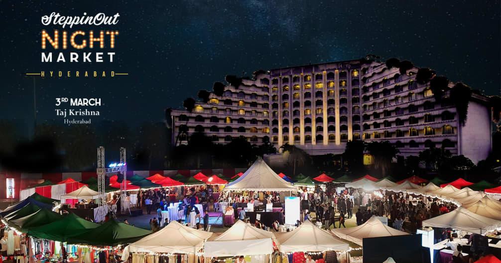 SteppinOut Night Market - Hyderabad