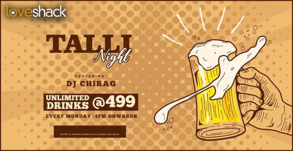 Talli Night at Loveshack