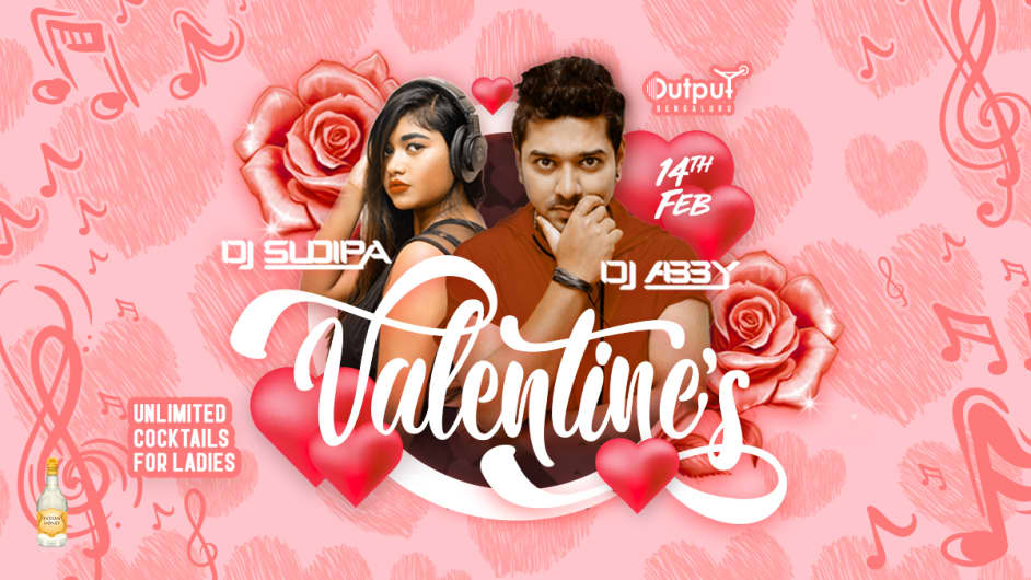 Valentine's Day Party with Dj Abby & Sudipa