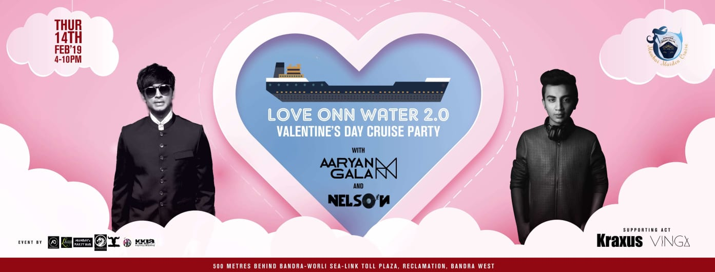 LOVE ONN WATER 2.0 VALENTINES DAY CRUISE PARTY