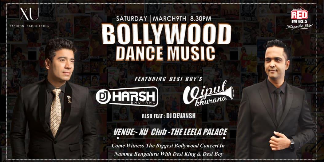 Biggest Bollywood Night with Dj Harsh Bhutani & DJ Vipul Khurana