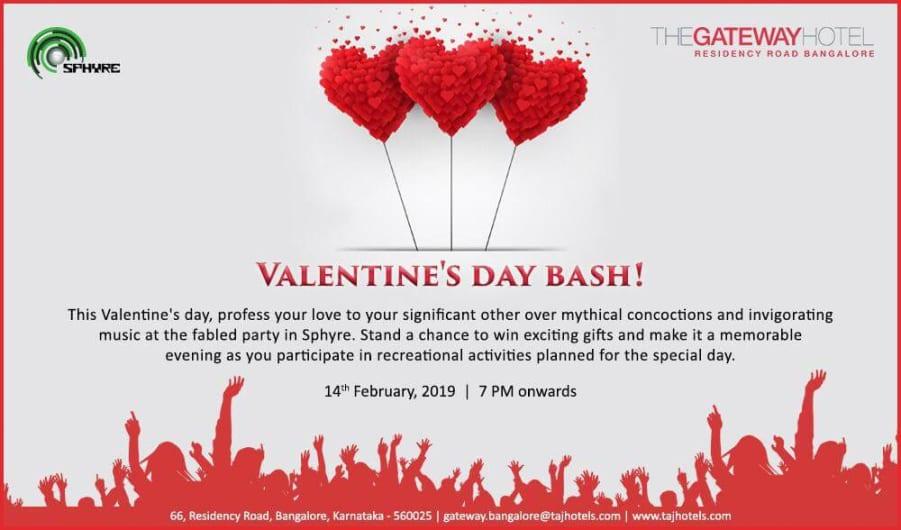 Valentine's day bash